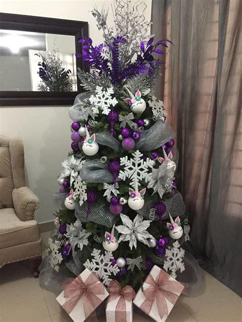 Decoración Árboles de navidad de unicornio Ideas Bonitas