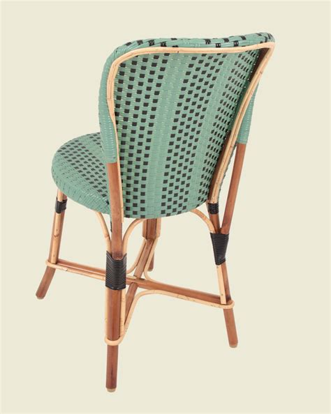 chaise drucker vendôme chair jade green black maison drucker