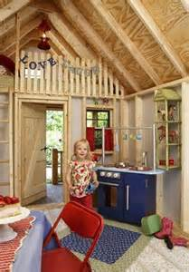 Kids Outdoor Playhouse Interior