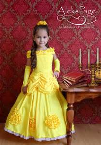 Beauty and the Beast Belle Ball Gown Dresses