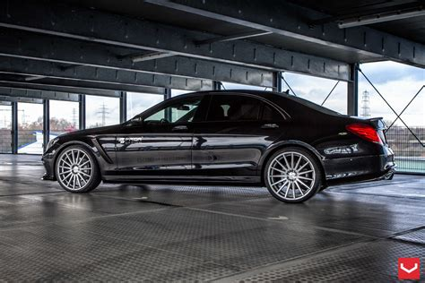Mercedes Benz S Class Vossen Wheels Tuning Cars Wallpaper