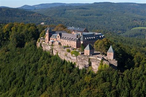 le mont odile vosges alsace travels houses of worship a
