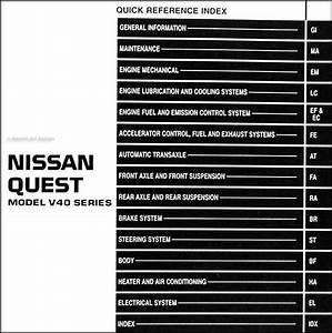 2006 Nissan Quest Wiring Diagram