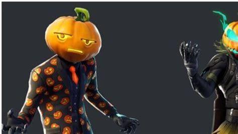 fortnite leak reveals pumpkin  plague doctor