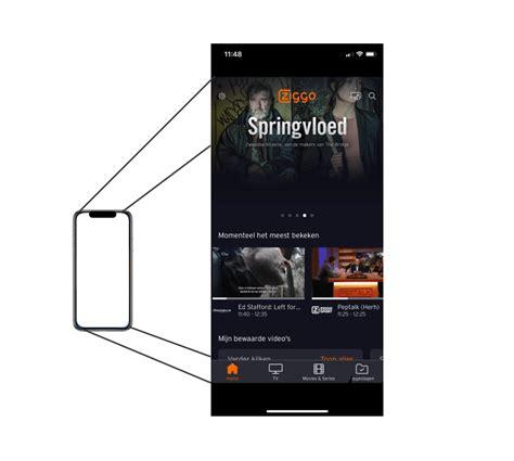 de ziggo  app de interactieve tv app van het moment