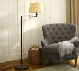 lucille floor lamp pottery barn floor lamps With pottery barn floor reading lamp