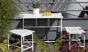 Table Pour Petit Balcon : quel salon de jardin choisir jardinerie truffaut conseils salon de jardin canap table ~ Melissatoandfro.com Idées de Décoration