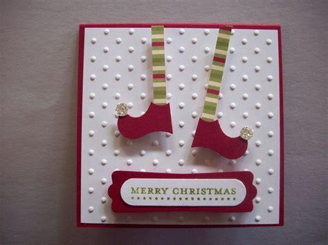 elf legs stampin  card  images creative
