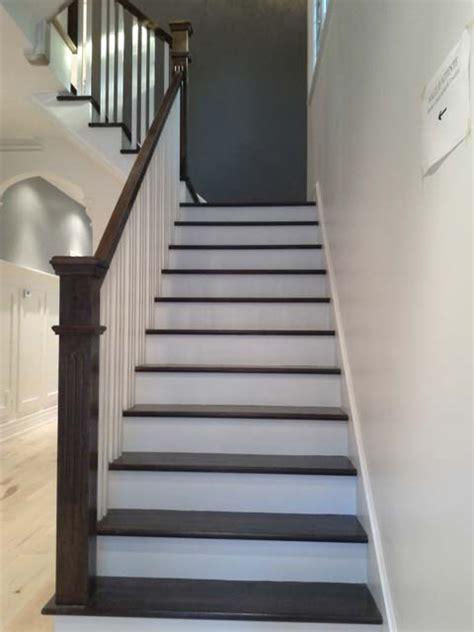 superbe peindre escalier bois en blanc 2 installation dun escalier ancien refait comme
