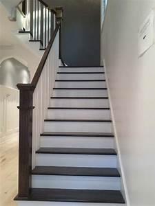 Peindre Escalier En Bois : peindre son escalier en blanc 8 superbe peindre ~ Dailycaller-alerts.com Idées de Décoration