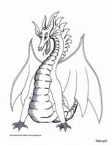Blog Creation2  Free Printable Animal Dragon Coloring Pages