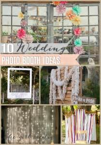 10 diy wedding photo booths the creative - Wedding Photo Booth Ideas