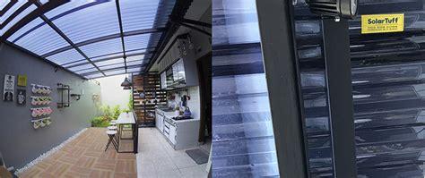 harga atap kaca dapur