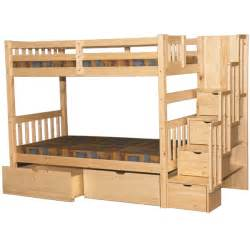 stairway bunk bed staircase bunk beds