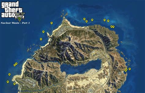 gta  nuclear waste locations