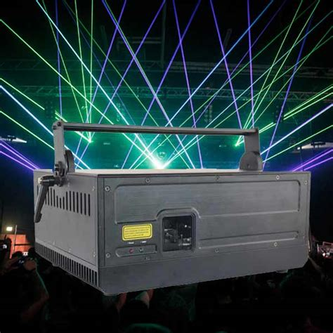 8w Outdoor Laser Light Show Equipment For Stage Event Bomgoo