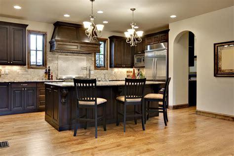 Kitchen Paint Colors With Dark Oak Cabinets   Kitchen
