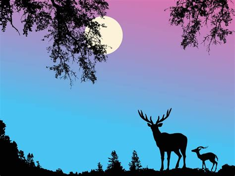Background Images Of Pictures by Deer Background Vector Vector Graphics Freevector
