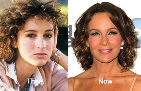 actress jennifer in dirty dancing jennifer grey plastic surgery before and after nose job