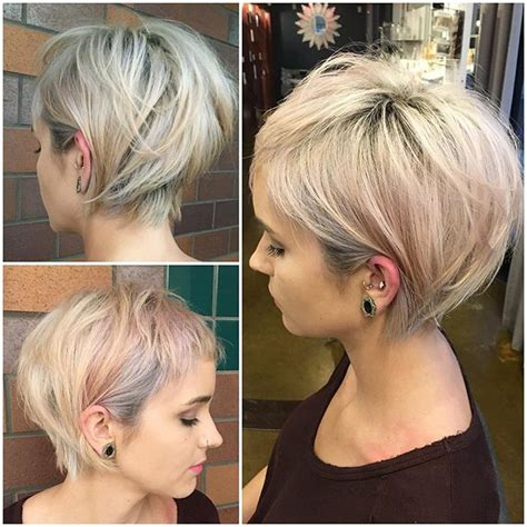 love this cut growing out from a pixie while still
