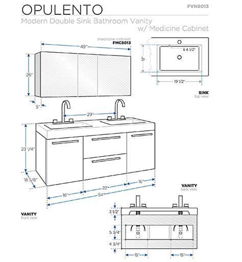 fresca opulento gray oak modern double sink bathroom vanity