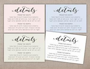 details printable card wedding information printables With wedding invitation etiquette order inserts