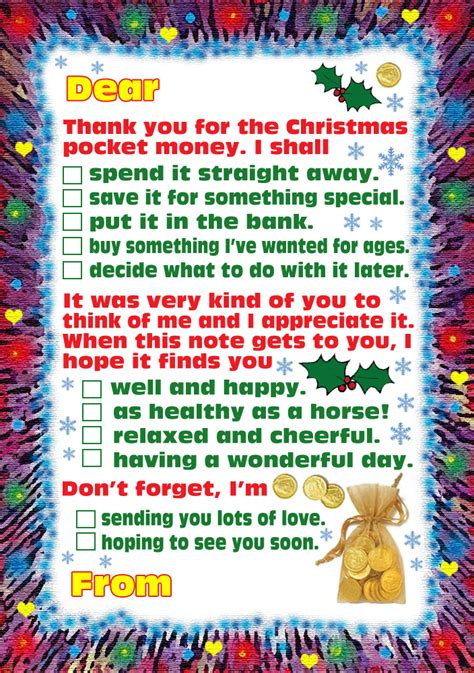 christmas pocket money rooftop post printables