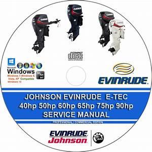 Johnson Evinrude 40hp - 90hp E-tec Outboard 2012