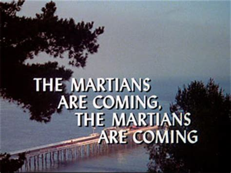 martians  coming