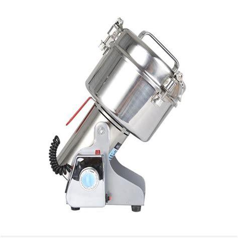 ytk brand  dry food herb powder grinder machine