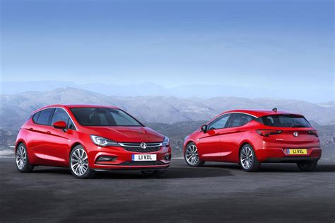 vauxhall astra 2015 vauxhall astra to start from 163 15k by car magazine