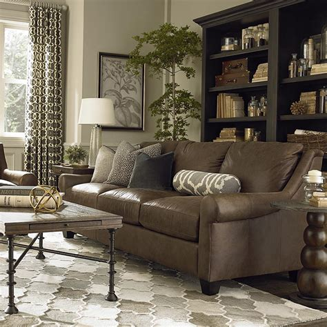 Casual Leather Great Room Sofa