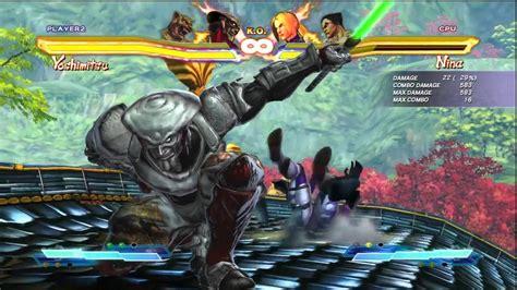 Street Fighter X Tekken King And Yoshimitsu Combo