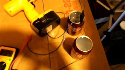 aluminum air battery  cans youtube
