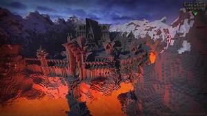 Minecraft Lava Fortress