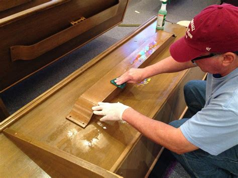 church pew cleaning
