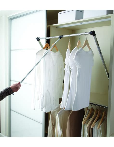 WWPDHR1/2 Wardrobe Pull Down Clothes Hanging Rail, Two
