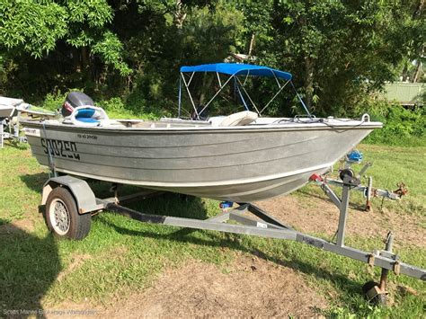 Aluminium Boats For Sale Qld by Mako 400hd Trailer Boats Boats For Sale