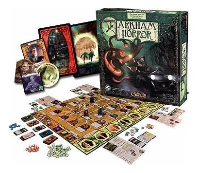 Horror Board Games Arkham Card Cthulhu Investigator