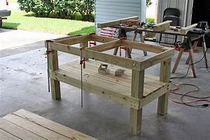table plans for large big green egg woodideas