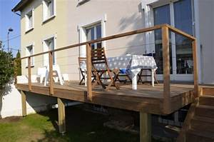 Garde Corp Terrasse : garde corps inox modulaire main courante pour terrasses ~ Melissatoandfro.com Idées de Décoration