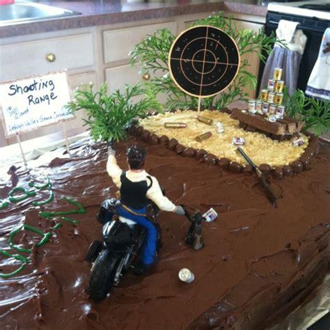 shooting range cake cool  cake designs shooting