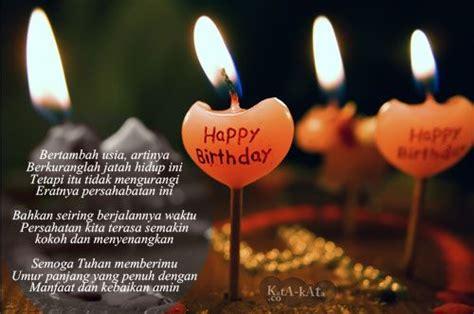 puisi ucapan ulang   sahabat happy birthday