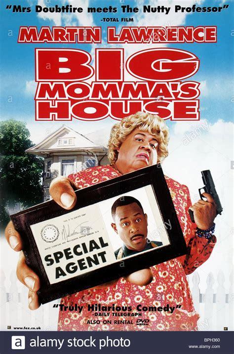 martin lawrence poster big mommas house  stock photo