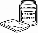Butter Peanut Coloring Pages Template Templates sketch template