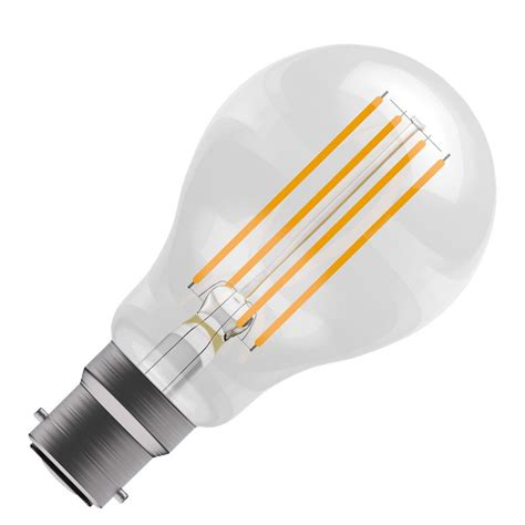 bell 05018 classic led filament bulb 6w non dimmable bc b22