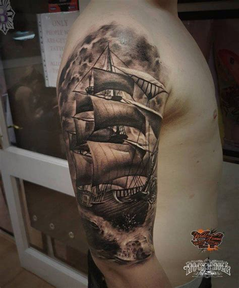 Boat Tattoo by Best 25 Boat Tattoos Ideas On Pinterest Half Sleeve