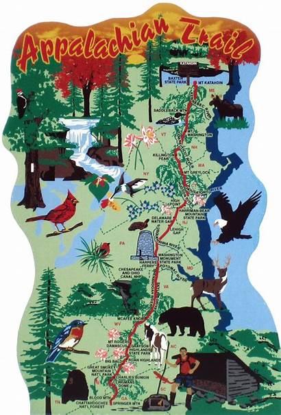 Appalachian Trail Map Maps National Park Hiking