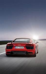 Audi, R8, Car, Vehicle, Super, Car, Portrait, Display, Red