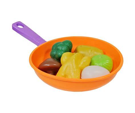 cuisine jouet fille jeu jouet fille poêle dinette avec set repas 7 accessoires